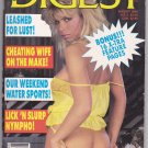 Human Digest - August 1988 - Adult Magazine - Very Good