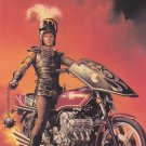 Knight on Wheels #70 - Boris 1991 Fantasy Art Trading Card