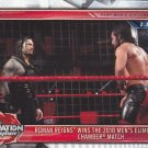 Roman Reigns - Elimination Chamber #28 - WWE 2018 Topps Wrestling Trading Card
