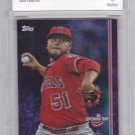 Jaime Barria #90 - Graded Purple Foil - BCCG 10 MINT - 2019 Topps Baseball Card