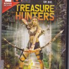 Treasure Hunters, Pacific Inferno & The Legend of Sea Wolf DVD 2018 - Very Good