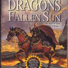 Dragons of a Fallen Sun by Dragonlance 2001 Paperback Book - Good
