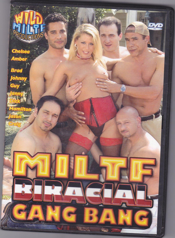 Miltf Biracial Gang Bang - Adult DVD - COMPLETE
