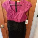 Purple and Black, Short Sleeve Dress - Brand; Be Bop - Size XL