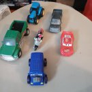 Toy Vehicle 6 Piece Lot - Very Good