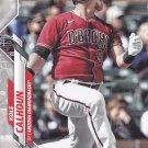 Kole Calhoun #U-247 - Diamond Backs 2020 Topps Baseball Trading Card
