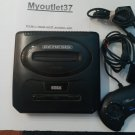 Sega Genesis 2 Console, Cords, Controller, game - Works - Very Good - COMPLETE
