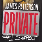 Private - #1 Suspect by James Patterson 2012 Hardcover Book - Very Good