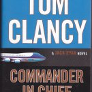 Commander in Chief (Clancy) by Mark Greaney 2015 Hardcover Book - Very Good