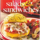 Best of Country Salads and Sandwiches 0082 Hardcover Book - Very Good