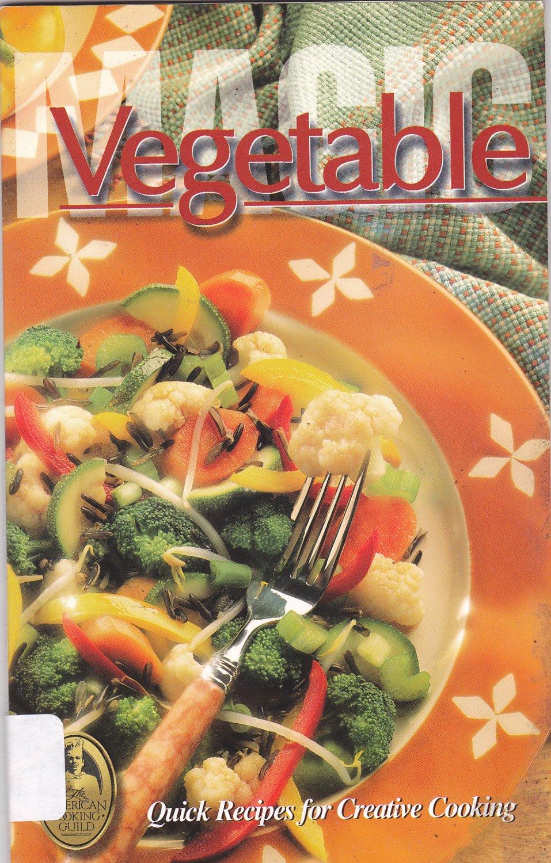 Vegetable Magic Vol #9 by Sheilah Kaufman 1997 Paperback Book - Very Good