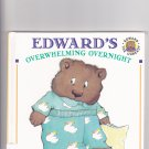 Edward's Overwhelming Overnight by Rosemary Wells 1995 Hardcover Book - Very Good