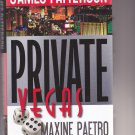 Private Vegas by James Patterson 2015 Hardcover Book - Very Good