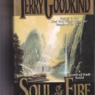Soul of the Fire (Sword of Truth #5) by Terry Goodkind 1999 Hardcover Book - Very Good