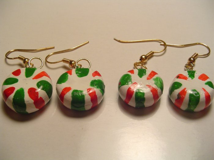 Mint Candy Earrings