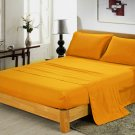 600TC GOLD SOLID QUEEN SHEET SET – 100% EGYPTIAN COTTON