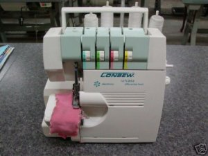 CONSEW 14TU854 POTABLE / OVERLOCK SERGER NEW