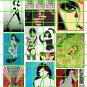 6005 - Street Art/Graffiti #1 Girls Women Betty Bettie Page wall Art