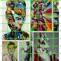 6010 - Street Art/Graffiti Set #6 Colorful Urban Jack Nicholson