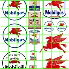 4010 - Mobilgas and Oil Vintage Signage Filling Stations signs