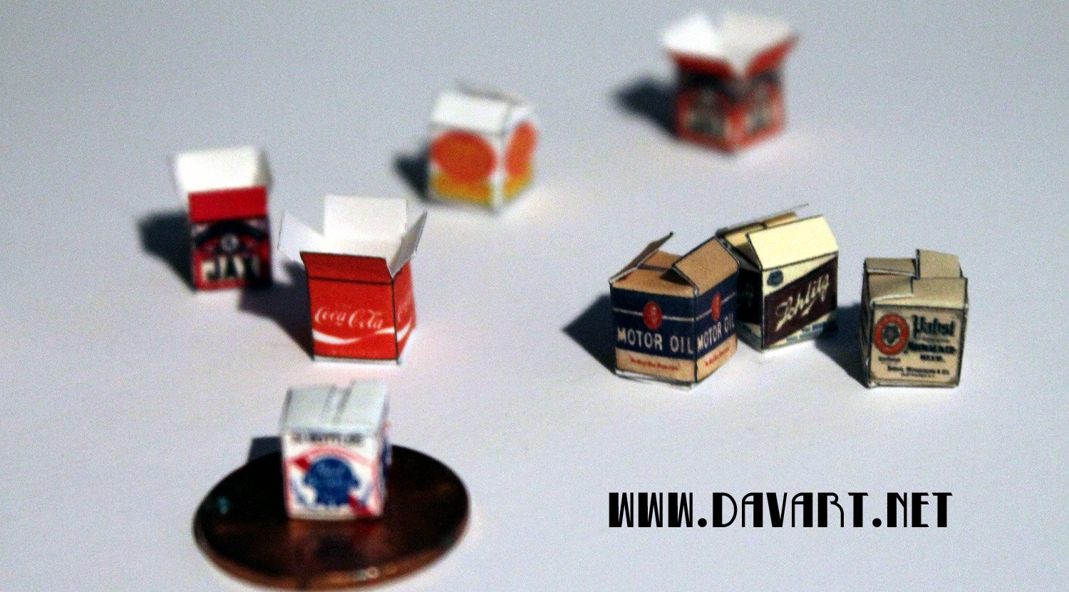 HO SCALE DIORAMA BOXES ASSORTED STYLES ...