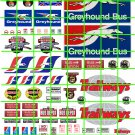 7016 - GREYHOUND TRAILWAYS BUS DEPOT ADVERTISING SIGNAGE