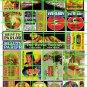 0188 - MEDIUM MID-CENTURY ADVERTISING SIGNAGE