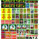 7009 - VINNIE'S VINYL RECORD SHOP CONCERT POSTERS AND BUSINESS SIGNAGE