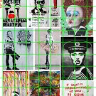 6007 - Street Art/Graffiti #3 Faces Urban Alice in Wonderland Banksy
