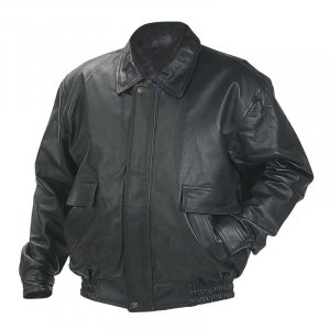 Genuine Soft Glove Leather, Bomber Jacket