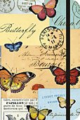 Butterfly Dream Journal Cavallini Notebook Butterflies Cream