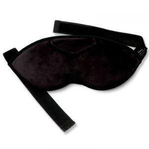 Bucky Shades Sleep Mask  Eye Mask with Earplugs  Black