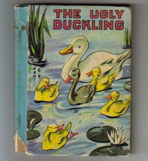 Vintage Ugly Duckling Little Color Classics Book 1939