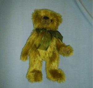 """Ty Beanie Baby ATTIC Treasure 9"""" FERN Green Teddy Bear"""