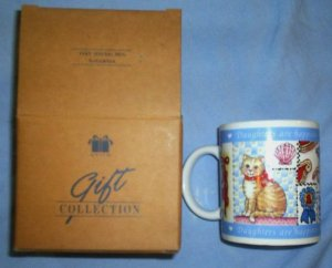 New AVON Very Special Daughter Cat Kitten Mug Coffee Cup