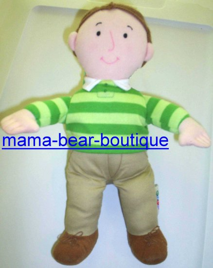Rare BLUES CLUES Steve Doll by Eden Plush Toy
