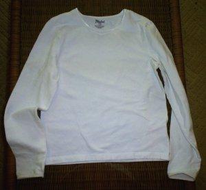 3 Long Sleeve Basic Shirts Fall Winter Red Black White Top Lot Girls 10-12