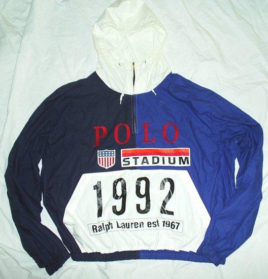 Rare Vintage Ralph Lauren Polo 1992 Stadium Jacket Men's Size Large L