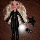 "Bratz Cloe 10 inch Doll chloe Black ""leather"" look outfit rock starz"