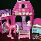 My Little Pony Cotton Candy Cafe dollhouse pink doll house by Hasbro