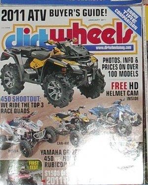 1 Back Issue Dirt Wheels Magazine January 2011