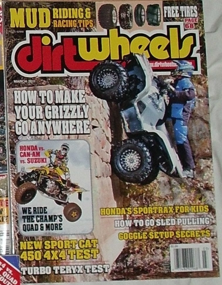 1 Back Issue Dirt Wheels Magazine March 2011