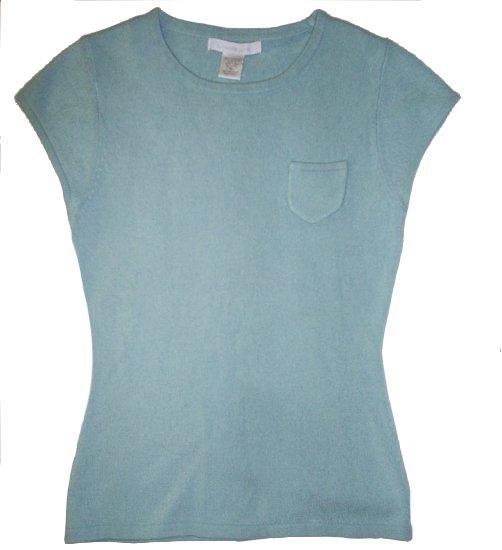 CHARLOTTE RUSSE Blue Sweater Juniors Womens Medium S XS
