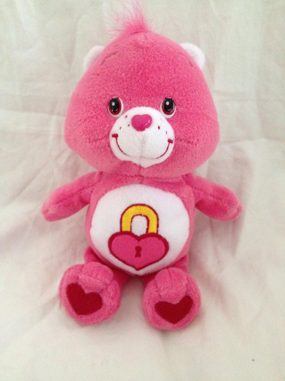 Care Bear Pink Secret Bear 9 Quot Plush Toy Stuffed Animal