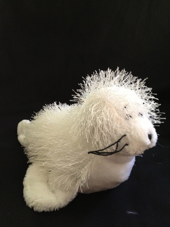 Ganz Webkinz Plush White Baby Seal 10 Quot Hm023 No Code