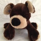 Ganz Webkinz Mocha Pup Brown Puppy Dog HM348 Plush Stuffed Animal Toy No Code