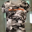 "Code 5 Camo T-shirt Junior Size M  ""You Can't See Me"" Top Tee"
