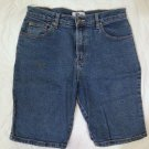 Arizona Denim Bermuda Shorts Size 11 Juniors Flat Front