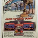 Star Wars:ESB VIDEO GAME 1983 Print Ad Marvel Comic PARKER BROTHERS