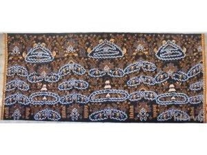 Indonesian Javanese Batik Tulis Cotton Fabric Hand Drawn Wax Dye Keraton 5